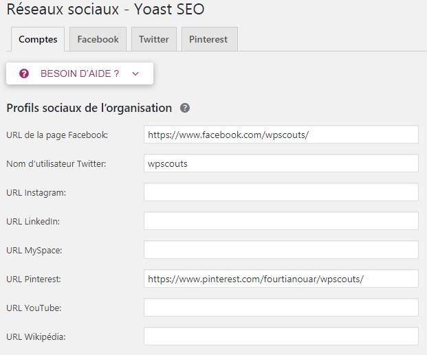 Comment configurer ses réseaux sociaux avec le plugin Yoast SEO
