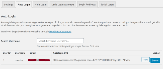 Auto Login - LoginPress