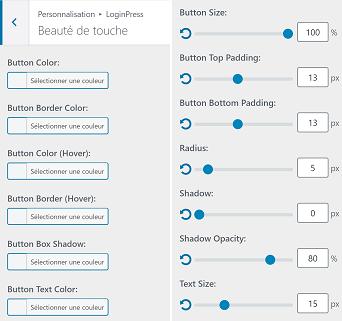 Comment personnaliser le bouton du formulaire de connexion