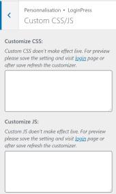 Custom CSS/JS : personnaliser CSS de sa page de connexion