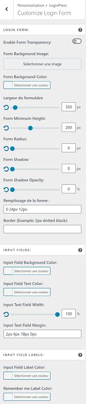 Customize Login Form : Comment personnaliser le formulaire de connexion