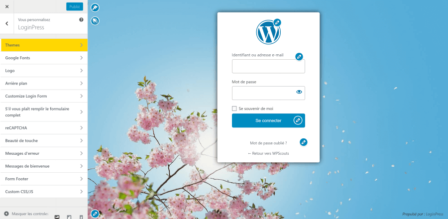 LoginPress : Comment personnaliser sa page de connexion WordPress via le Customizer