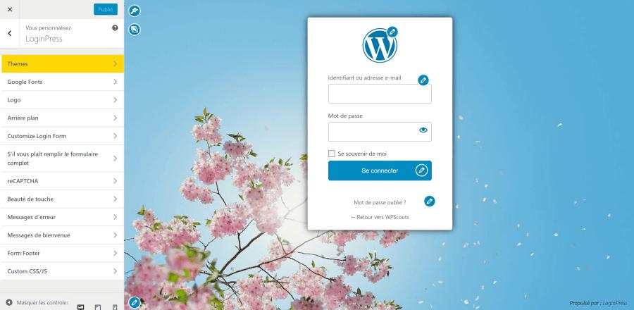 LoginPress : Comment personnaliser sa page de connexion WordPress via le Customizer