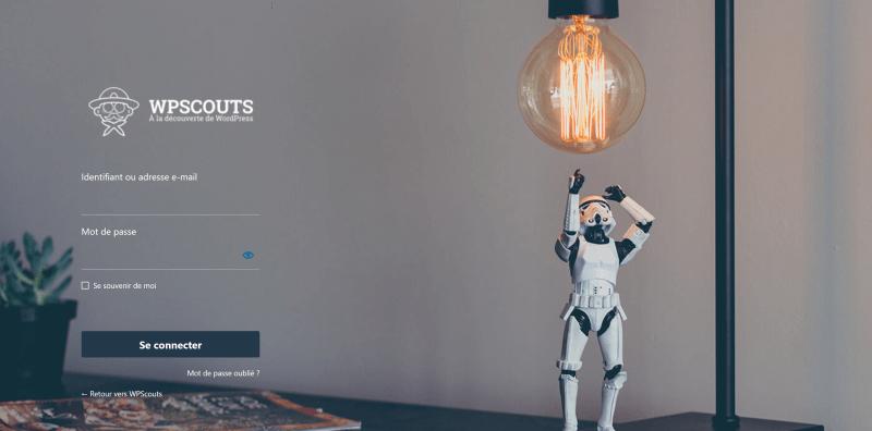 LoginPress : Template innovation