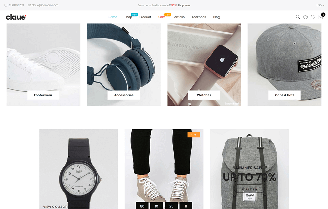 Claue - Theme WordPress eCommerce Minimaliste
