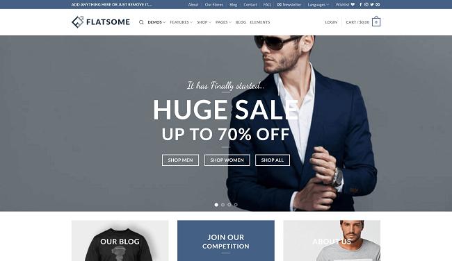 Flatsome : Thème WordPress WooCommerce