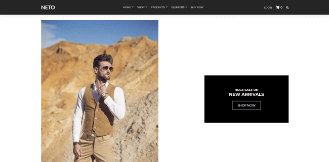 Neto : theme wordpress ecommerce de la boutique CssIgniter